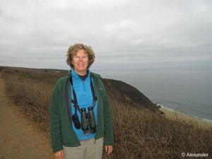 Jet on Tomales Point trail